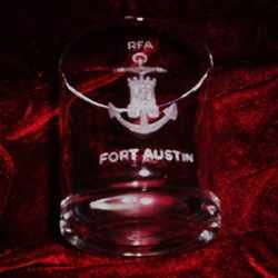 rfa fort austin ships badge