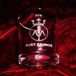 rfa fort grange ships badge