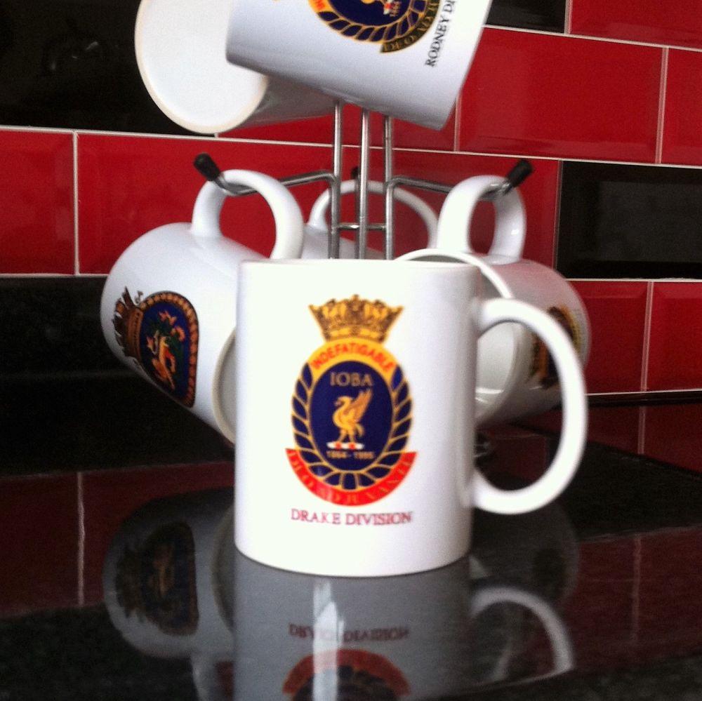Mug C Indefatigable old boys association divisional Drake Reunion collectio