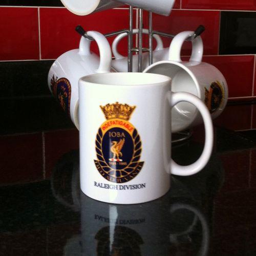 Mug E Indefatigable old boys association divisional Raleigh Reunion collect