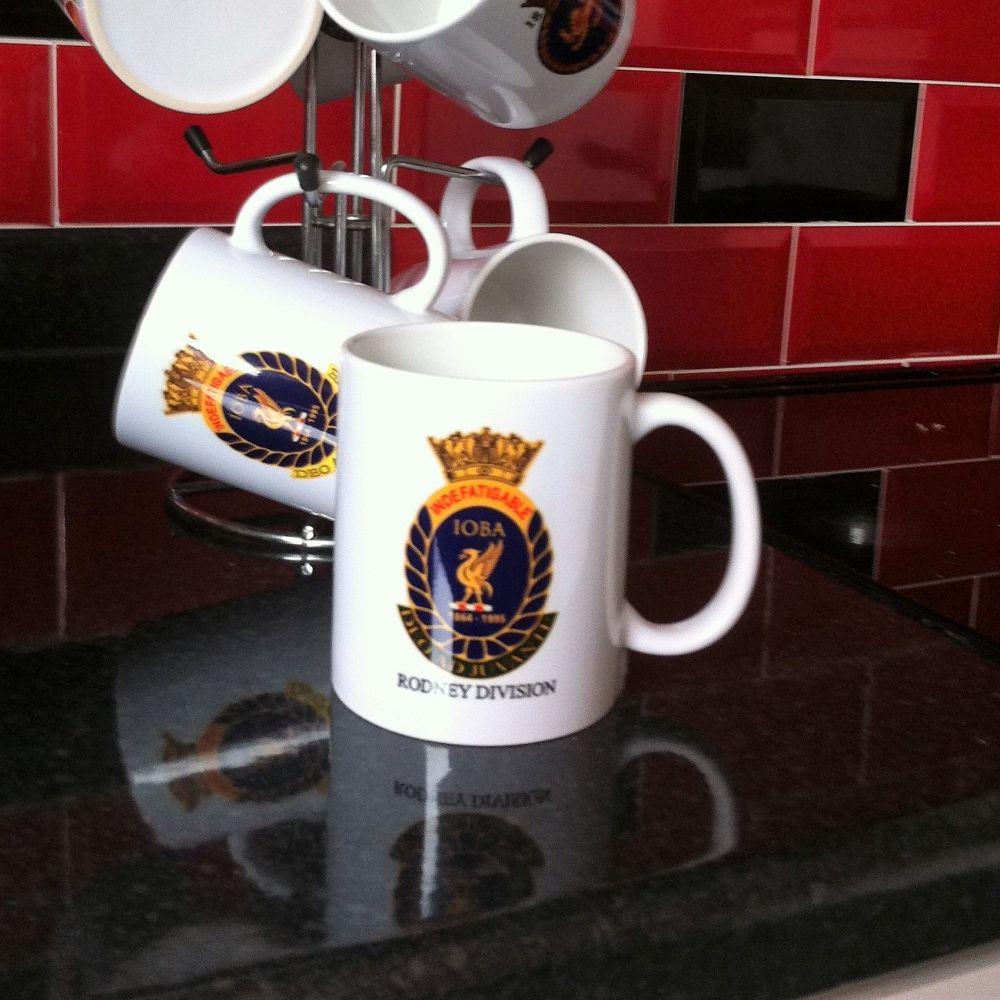 Mug F Indefatigable old boys association divisional Rodney Reunion collecti