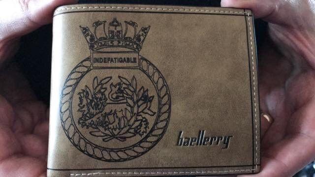 Indefatigable Old Boys Association wallet collected