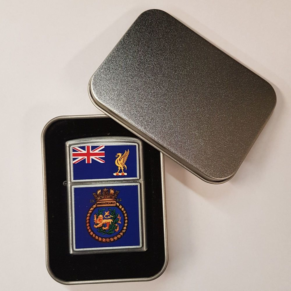 Indefatigable collectors lighter collected