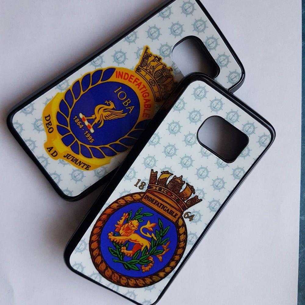 Indefatigable 1864 mobile phone case collected