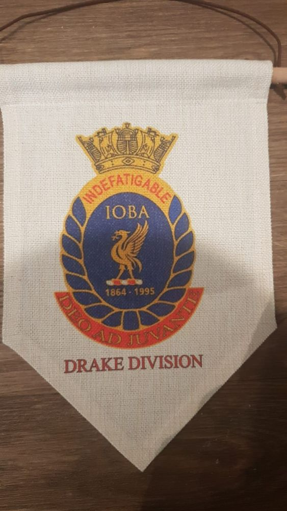 Divisional IOBA pennant collected