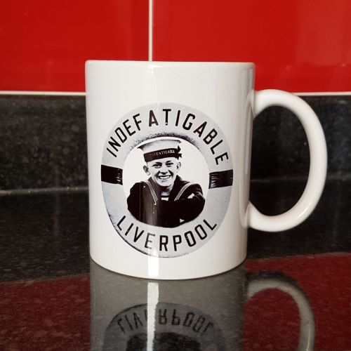 Mug H Indefatigable Liverpool Boy Lifebelt