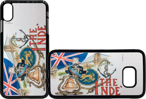 Mobile phone case Indefatigable watercolour picture