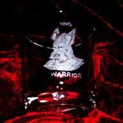 hms warrior ships badge