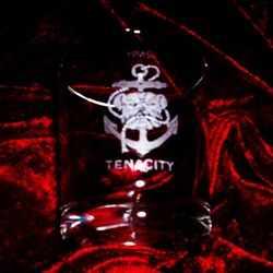 hms tenacity ships badge