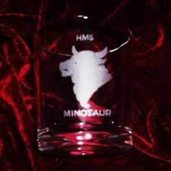 hms minotaur ships badge