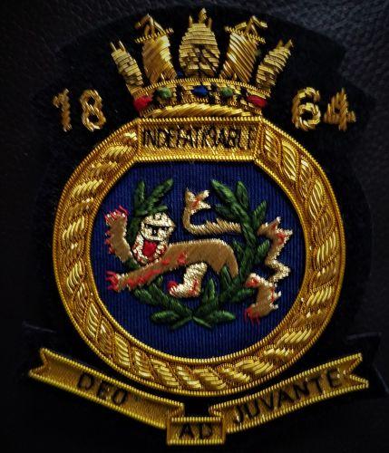 Blazer Badge Indefatigable Old Boys Association