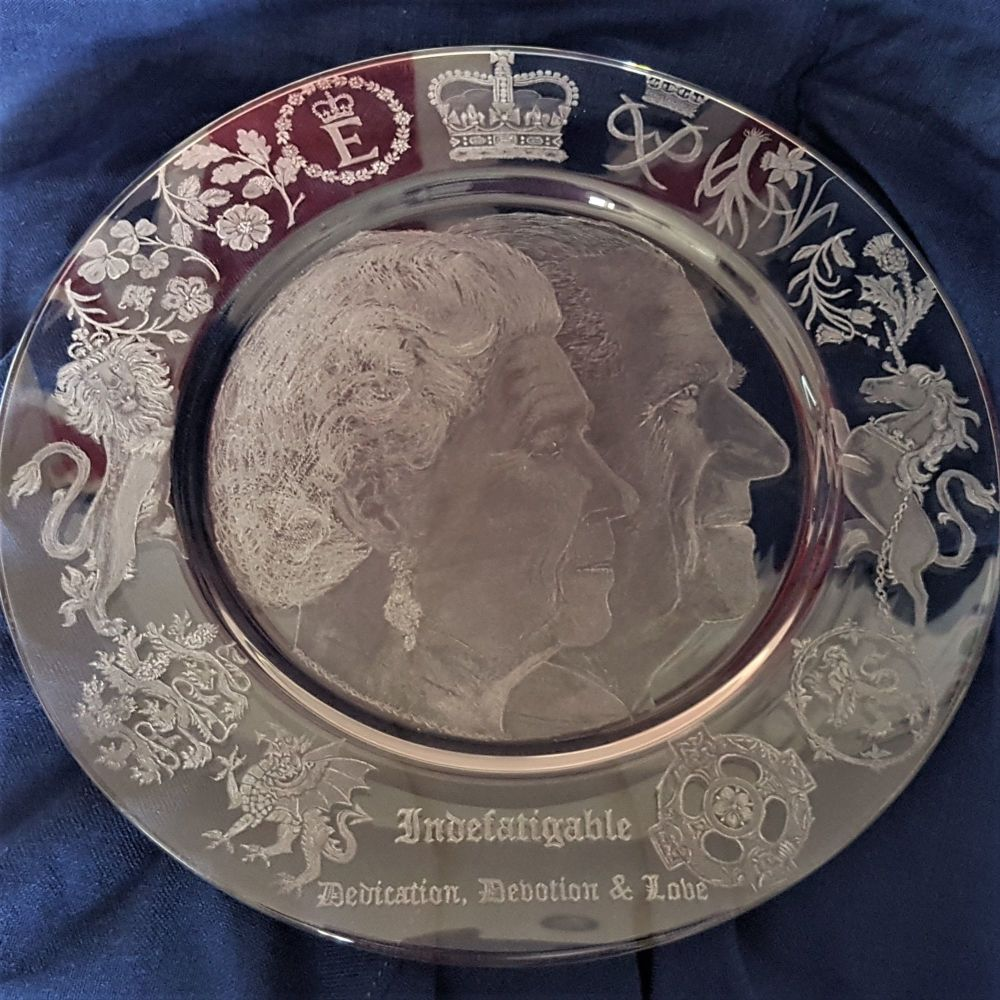 Royal Charger HM The Queen Elizabeth II and Prince Philip