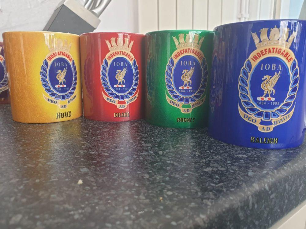 Mug S Indefatigable new for 2021 Rodney division