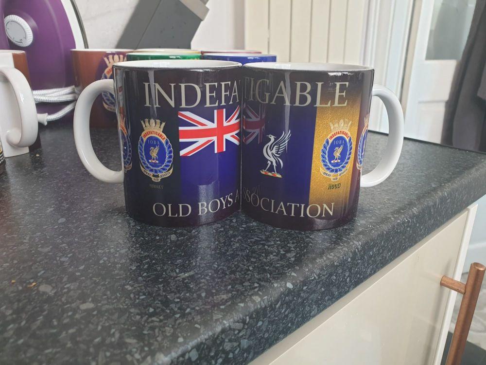 Mug V Indefatigable new for 2021 Ensign & Divisions