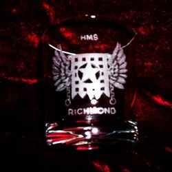 hms richmond ships badge