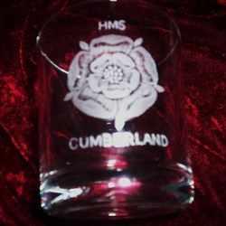 hms cumberland ships badge