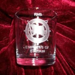 rms empress of britain badge