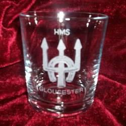 hms gloucester ships badge