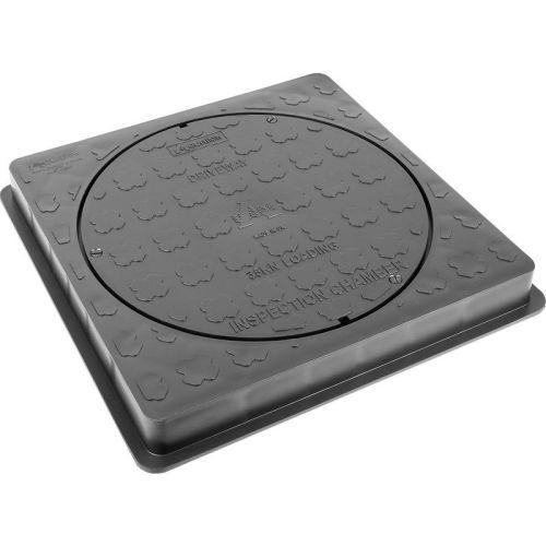 Square Plastic Cover & Frame 470mm