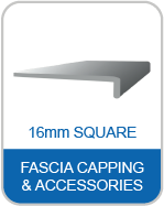 9P 16mm Square Fascia Capping & Accessories