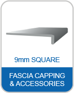 9M 9mm Square Fascia Capping & Accessories