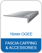 9P 16mm Ogee Fascia Capping & Accessories