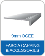 9mm Ogee Fascia Capping & Accessories