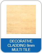 9V Decorative Cladding 8mm Multi Tile