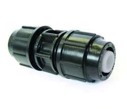 MDPE Barrier Pipe 25mm Coupling