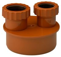Underground 32 - 40mm Waste Adaptor