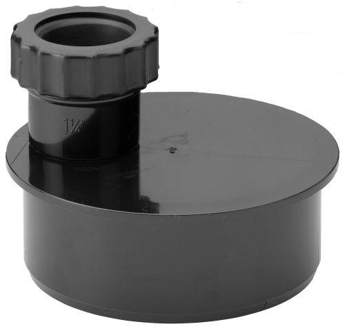Black Waste Adaptor 32mm