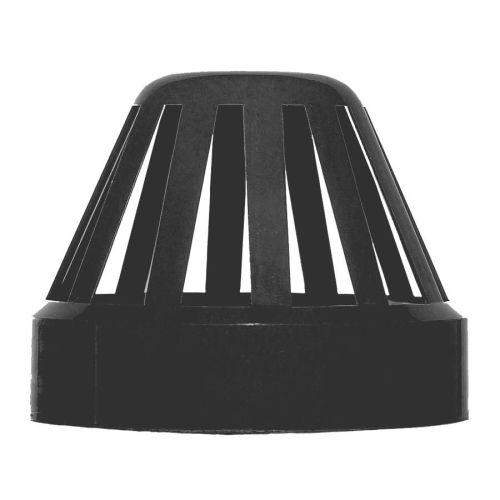 Black 110mm Solvent Vent Cowl