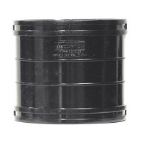 Black 110mm Solvent Soil Coupling