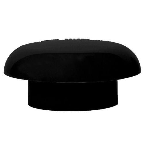 Black 110mm Solvent Mushroom Vent Cowl