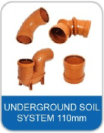 5B Underground Pipe & Fittings 110mm