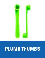 PLUMB THUMBS