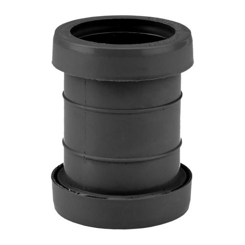 Black 32mm Push Fit Coupling Waste