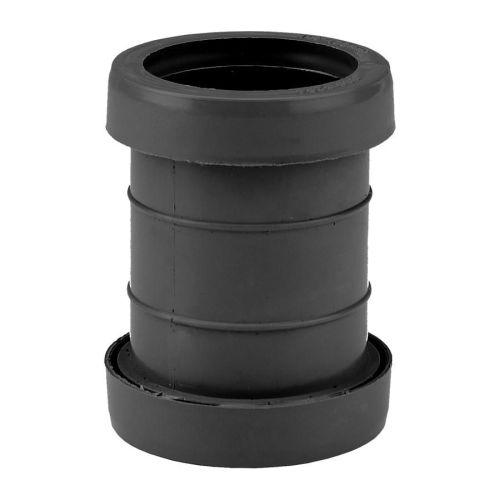 Black 40mm Push Fit Coupling Waste