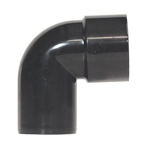 Black 40mm Solvent 92 Spigot Bend Waste