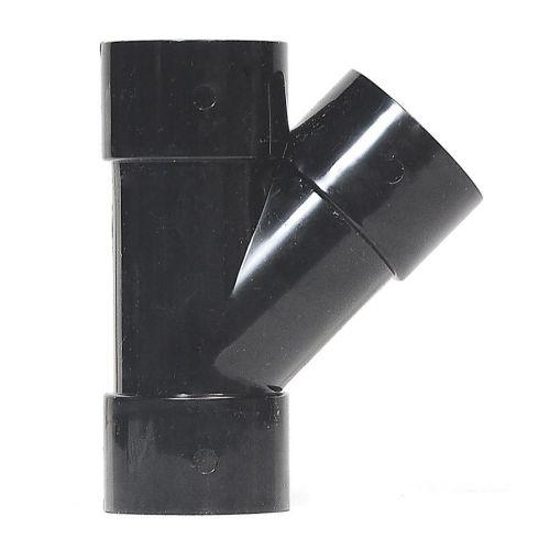 Black 50mm Solvent 135 Branch Waste
