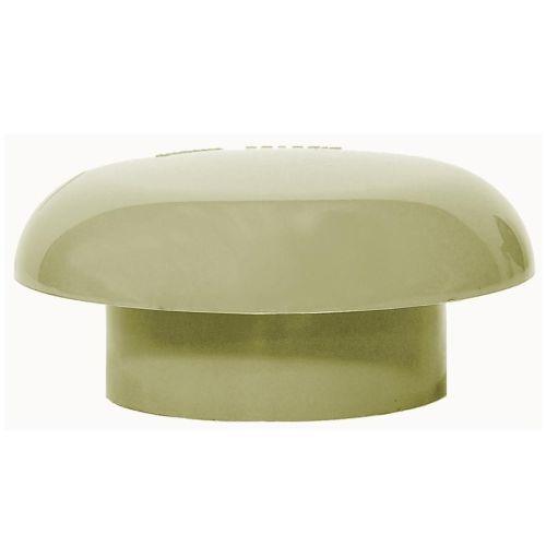 Olive Grey 110mm Solvent Mushroom Vent Cowl