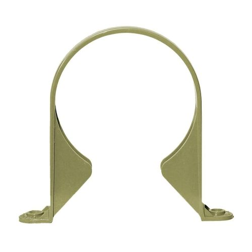 Olive Grey 110mm Solvent Pipe Support Bracket