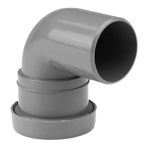 32mm Grey Push Fit Waste 90 Spigot Bend