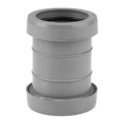 40mm Grey Push Fit Waste Coupling