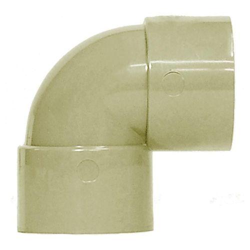 Grey 32mm Waste 90 Knuckle Bend