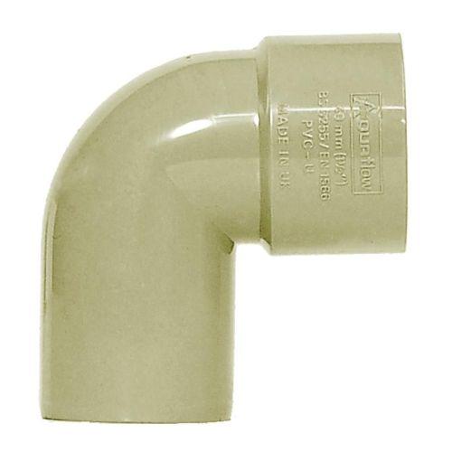 Grey 32mm Waste 90 Spigot Bend