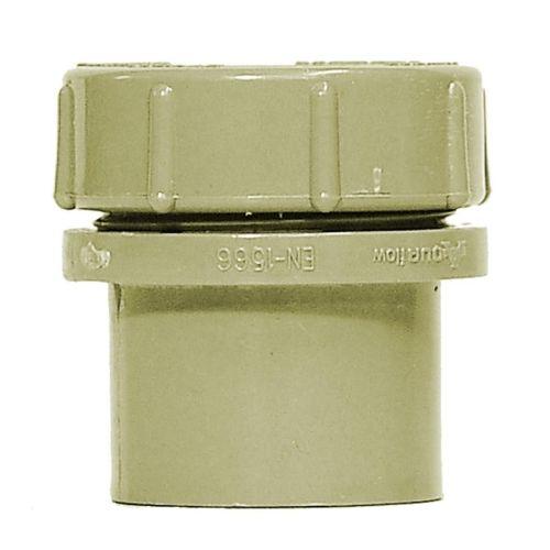 Grey 32mm Waste Access Plug with Screw Cap