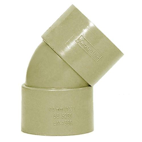 Grey 50mm Waste 135 Bend