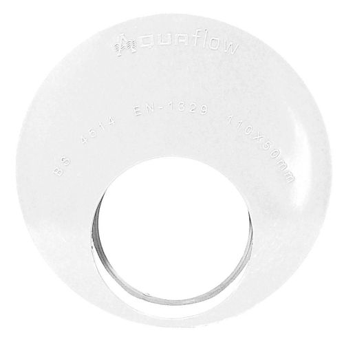 White 110mm Solvent Reducer Socket to 50mm