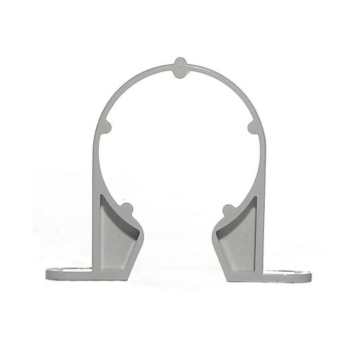 White 32mm Waste Pipe Support Bracket
